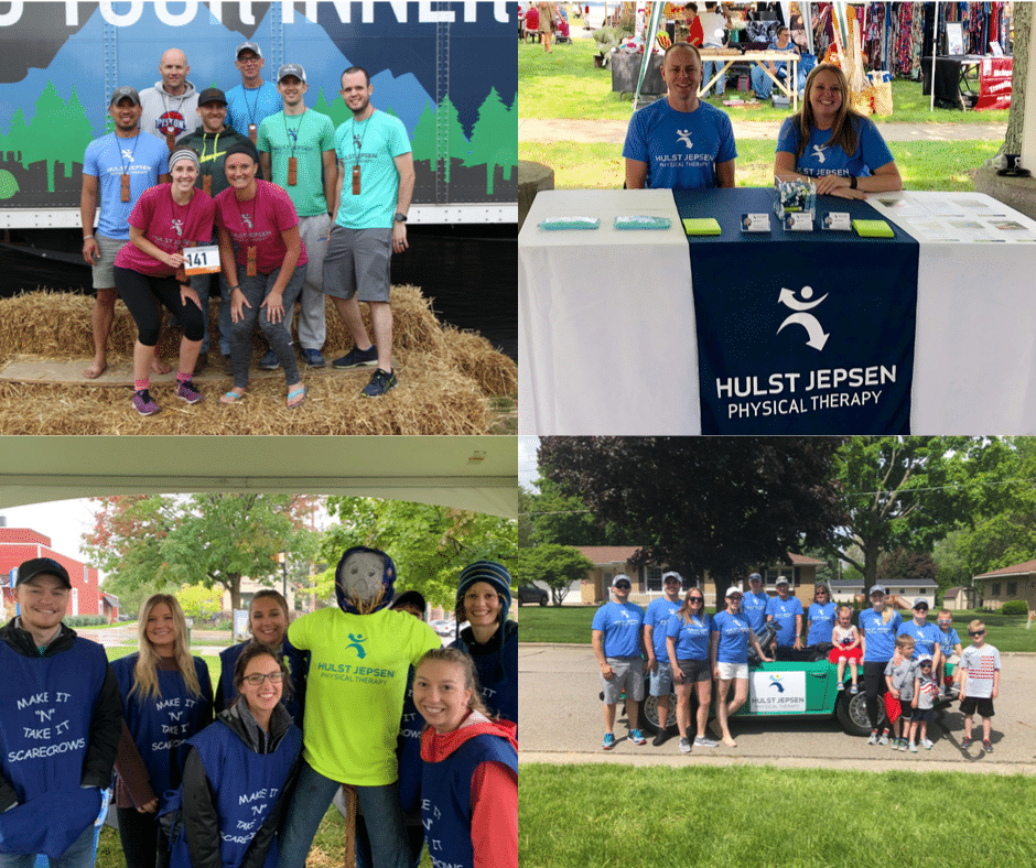 HJPT team members at community events