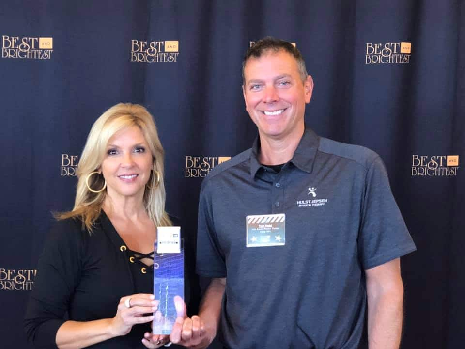HJPT wins best and brightest company west michigan